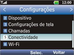 LG C365 - Internet - Como configurar seu celular para navegar através de Vivo Internet - Etapa 4