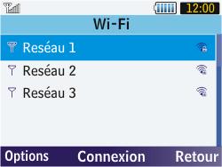 Samsung S3570 Chat 357 - Wifi - configuration manuelle - Étape 5