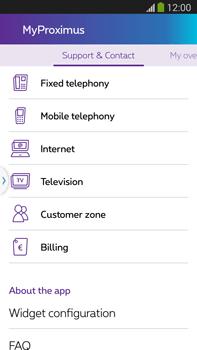 Samsung Galaxy S5 G900F - Applications - MyProximus - Step 22