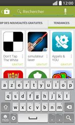 LG F70 - Applications - Télécharger une application - Étape 14
