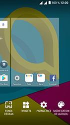 Alcatel U5 - Applications - Personnaliser l