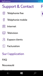 Microsoft Lumia 550 - Applications - MyProximus - Étape 20