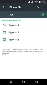 Acer Liquid Z630 - Bluetooth - koppelen met ander apparaat - Stap 8