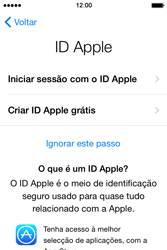 Apple iPhone 4S iOS 8 - Primeiros passos - Como ligar o telemóvel pela primeira vez -  14