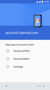 OnePlus 3 - E-mail - Manual configuration IMAP without SMTP verification - Step 12