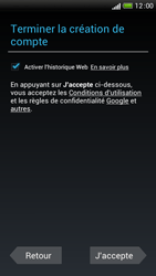 HTC One S - Premiers pas - Créer un compte - Étape 28