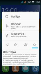 Huawei Y3 - Funções básicas - Como reiniciar o aparelho - Etapa 3