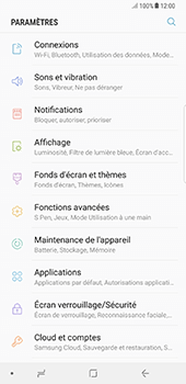 Samsung Galaxy Note 8 - Sécuriser votre mobile - Activer le code de verrouillage - Étape 4