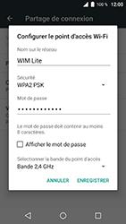 Wiko WIM Lite - Internet et connexion - Partager votre connexion en Wi-Fi - Étape 8
