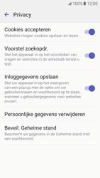 Samsung Galaxy S7 - Privacy - Cookies en geschiedenis wissen - Stap 9
