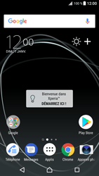 Sony Xperia XZ Premium - Applications - Supprimer une application - Étape 1
