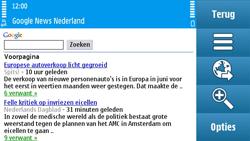 Nokia N97 - Internet - internetten - Stap 8