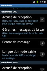 Samsung S6500D Galaxy Mini 2 - SMS - configuration manuelle - Étape 4