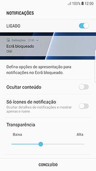 Samsung Galaxy S7 Edge - Android Oreo - Segurança - Como ativar o código de bloqueio do ecrã -  11