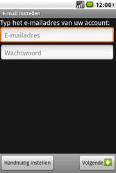 LG GW620 - E-mail - e-mail instellen: POP3 - Stap 5
