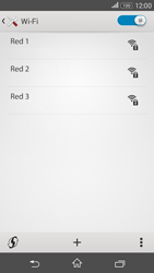 Sony Xperia E4g - WiFi - Conectarse a una red WiFi - Paso 6