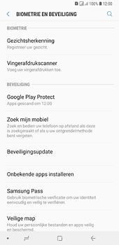 Samsung Galaxy A6 Plus - Beveiliging en privacy - zoek mijn mobiel activeren - Stap 5