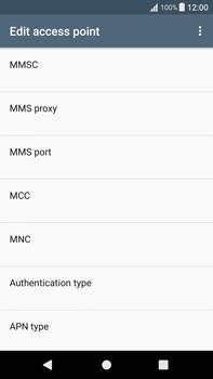 Sony Xperia XA1 Plus - Mms - Manual configuration - Step 12