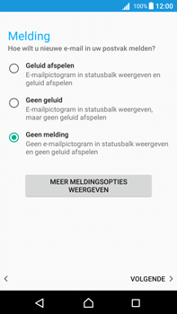 Sony Xperia Z5 Premium (E6853) - Android Nougat - E-mail - Handmatig instellen (outlook) - Stap 11
