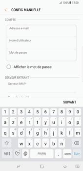 Samsung Galaxy Note 8 - E-mail - Configuration manuelle - Étape 11