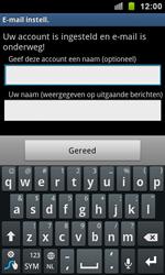 Samsung I9100 Galaxy S II - E-mail - e-mail instellen: IMAP (aanbevolen) - Stap 14