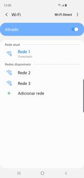 Samsung Galaxy S10 - Wi-Fi - Como configurar uma rede wi fi - Etapa 9