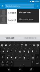 HTC Desire 816 - Contactgegevens overzetten - delen via Bluetooth - Stap 7