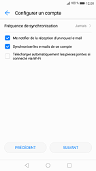 Huawei P9 - Android Nougat - E-mail - Configurer l