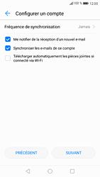 Huawei P9 - Android Nougat - E-mail - Configuration manuelle - Étape 18