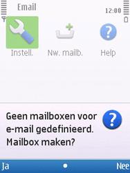 Nokia 6700 slide - E-mail - Handmatig instellen - Stap 6