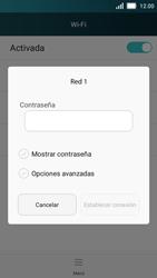 Huawei Y5 - WiFi - Conectarse a una red WiFi - Paso 6