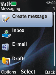 Nokia 6600i slide - E-mail - Sending emails - Step 4