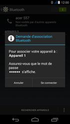 Acer Liquid Jade Z - Bluetooth - Jumeler avec un appareil - Étape 7