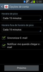 Samsung GT-I8552B Galaxy Win Duos - Email - Como configurar seu celular para receber e enviar e-mails - Etapa 15