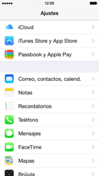 Apple iPhone 6 iOS 8 - E-mail - Configurar Yahoo! - Paso 3