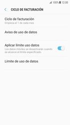 Samsung Galaxy S7 - Android Nougat - Internet - Ver uso de datos - Paso 14