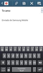 Samsung S7580 Galaxy Trend Plus - E-mail - Escribir y enviar un correo electrónico - Paso 10