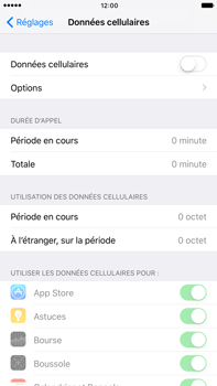 Apple Apple iPhone 6s Plus iOS 10 - Internet - activer ou désactiver - Étape 5