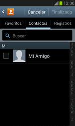Samsung Galaxy S3 Mini - Mensajería - Escribir y enviar un mensaje multimedia - Paso 6