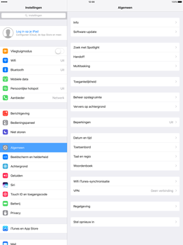 Apple iPad Pro 12.9 inch (Model A1671) - Software updaten - Update installeren - Stap 3