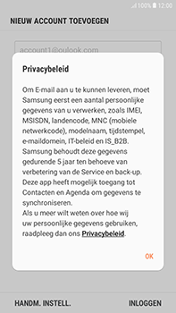Samsung Galaxy J4 - E-mail - handmatig instellen (outlook) - Stap 10