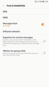 Samsung J730F Galaxy J7 (2017) (DualSIM) - SMS - configuration manuelle - Étape 7