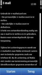 Nokia N8-00 - E-mail - Handmatig instellen - Stap 6