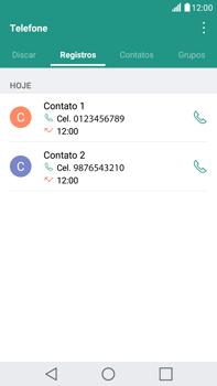 LG G5 Stylus - Chamadas - Como bloquear chamadas de um número específico - Etapa 4