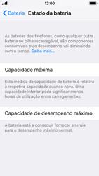 Apple iPhone SE - iOS 11 - Bateria - Desactivar a gestão de desempenho -  5