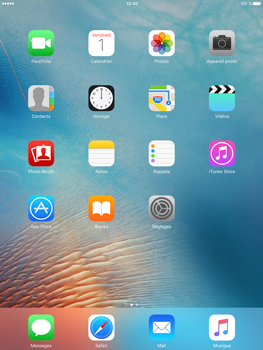 Apple iPad Pro (9.7) - E-mail - Configurer l