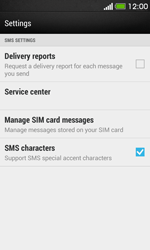 HTC Desire 500 - SMS - Manual configuration - Step 8