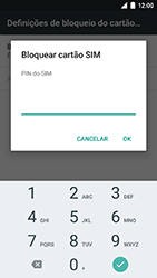 NOS Neva 80 - Segurança - Como ativar o código PIN do cartão de telemóvel -  7