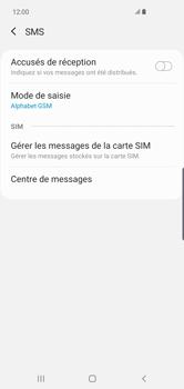 Samsung Galaxy S10 Plus - SMS - configuration manuelle - Étape 9