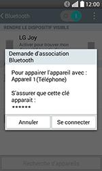 LG H220 Joy - WiFi et Bluetooth - Jumeler votre téléphone avec un accessoire bluetooth - Étape 8
